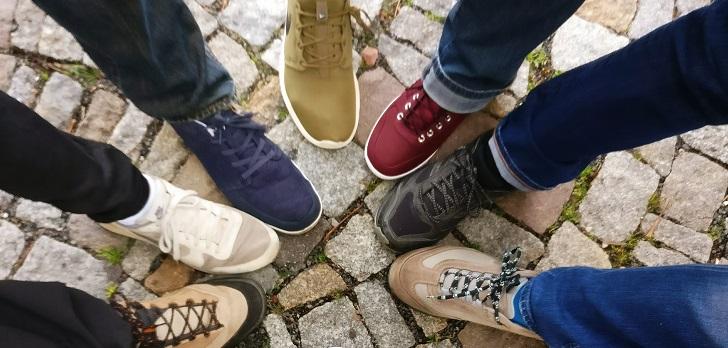 Zapatillas para ternos o trajes