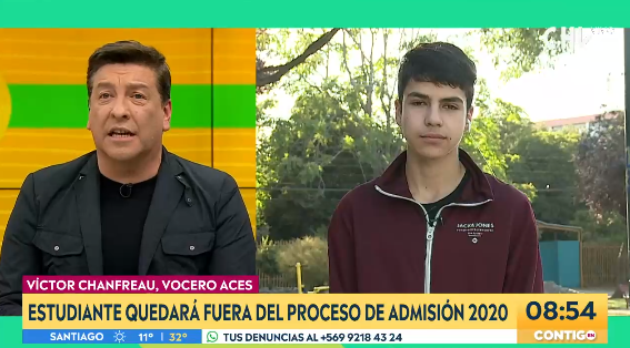 Julio César Rodríguez y Víctor Chanfreau vivieron intenso debate en CHV: