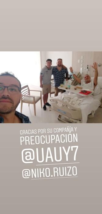Luis Jara operado de urgencia