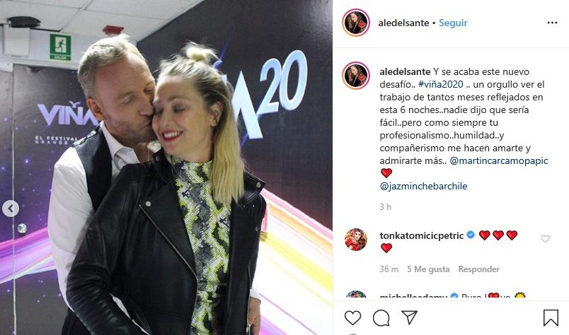 Ale Del Sante | Instagram
