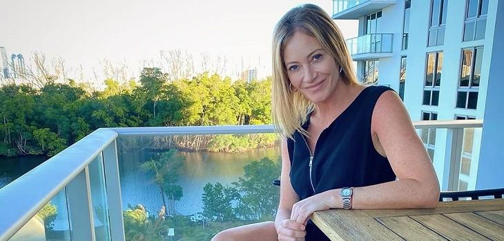 marcela Vacarezza compartió antigua fotografía de su época de modelo