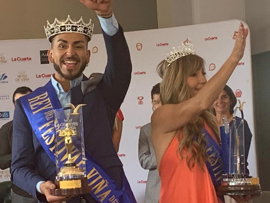 Rosita Piulats y Matías Falcón se coronaron como reyes de Viña