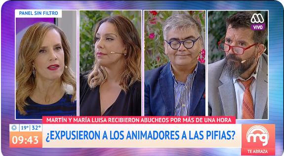 Diana Bolocco reaccionó indignada a crítica de Vasco Moulian sobre Viña 2020