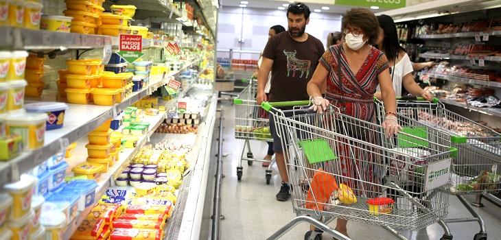 contaminación de covid en productos de supermercado