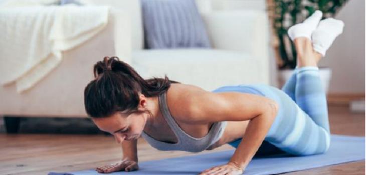 Actividad física en casa