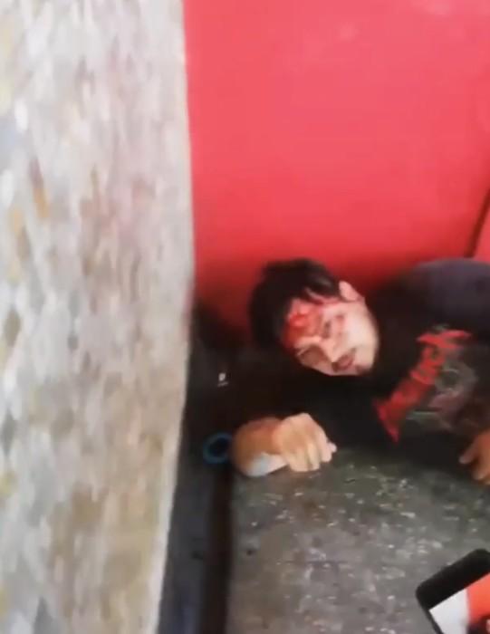Impactante detención ciudadana a sujeto que agredió a mujer en el Metro