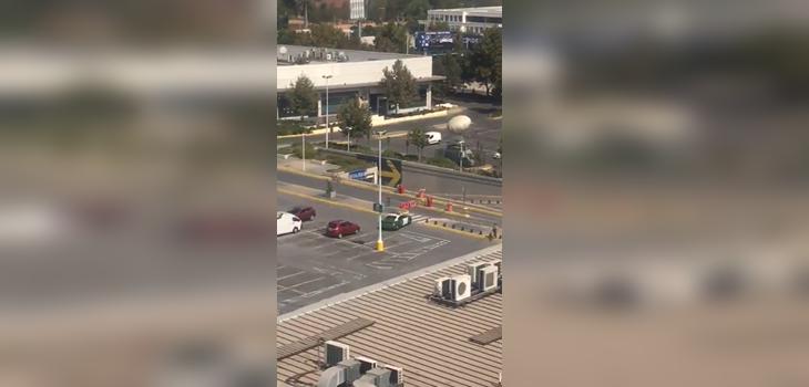 Regisran violento asalto en mall alto vespucio: 13 detenidos y dos heridos