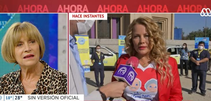 Cathy Barriga aseguró que en Maipú falleció una persona por coronavirus