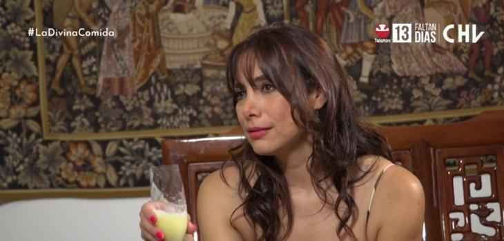 Catalina Olcay en La Divina Comida