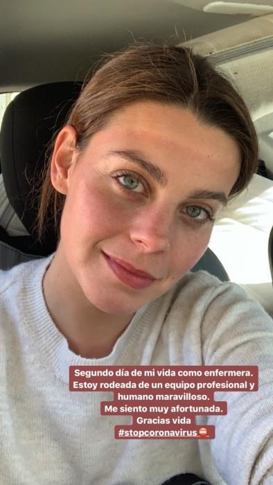 Actriz de La Casa de Papel es enfermera en Madrid