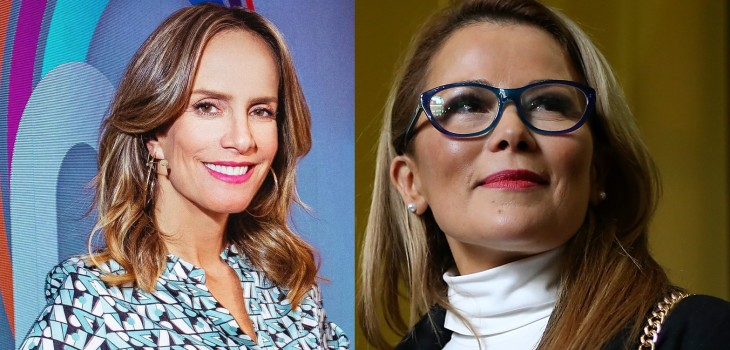 Diana Bolocco y Cathy Barriga tenso momento