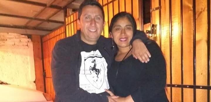 Campillai y su esposo