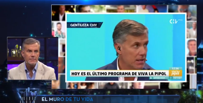 Felipe Vidal recuerda su salida de CHV