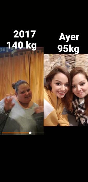 mujer decidió dar giro radical a su vida para dejar atrás sus 140 kilos