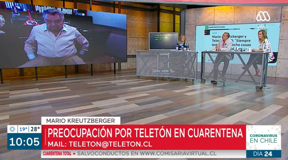 Don Francisco aseguró que la Teletón será 100% virtual