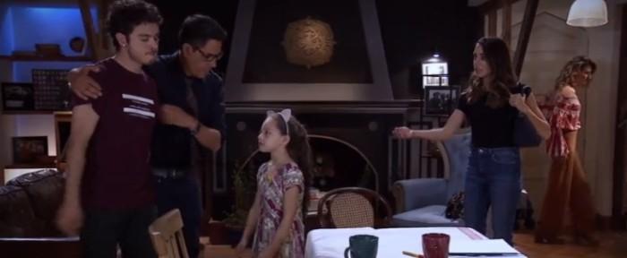 La aparición de pequeña actriz de Pacto de Sangre en 100 días para enamorarse