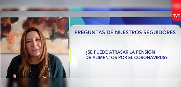 'Carmen Gloria a tu servicio' aclara dudas sobre pensión de alimentos durante crisis por coronavirus