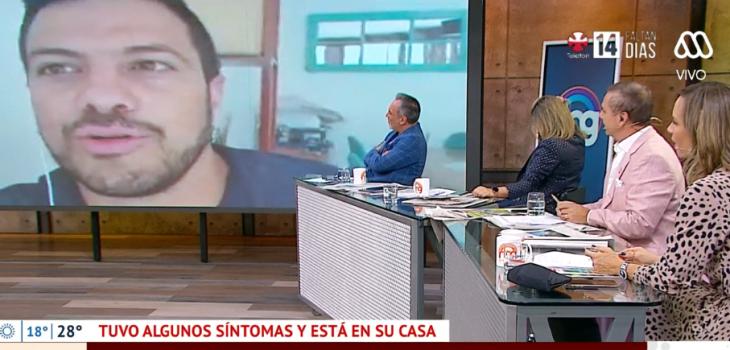 El testimonio de Simón Oliveros tras presentar síntomas de COVID-19