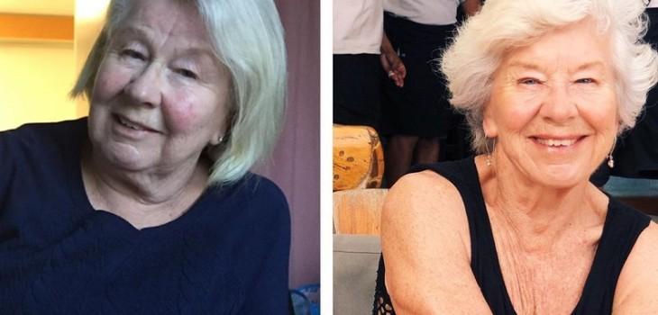 La increíble historia de mujer de 73 años que perdió 27 kilos y se convirtió en 'influencer fitness'