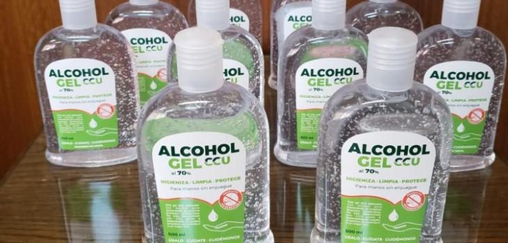 CCU donará alcohol gel a Minsal con materia prima extraída de la cerveza Cristal Cero y Heineken 0.0
