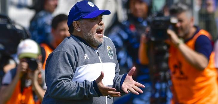 la particular frase de Maradona sobre cómo será cuando vuelva el fútbol
