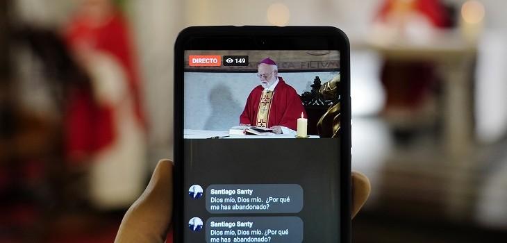 Misa online arzobispado de Santiago