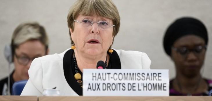 Bachelet sobre derechos humanos