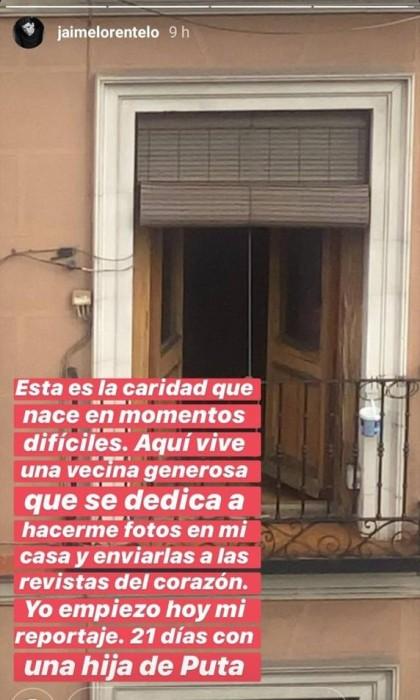 Instagram | Jaime Lorente
