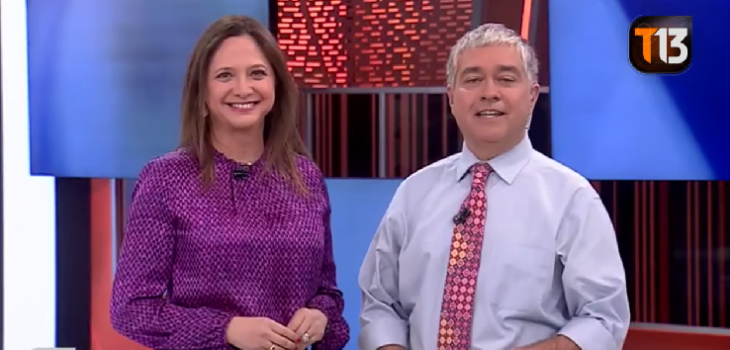 Mónica Pérez e Iván Valenzuela sufren accidente