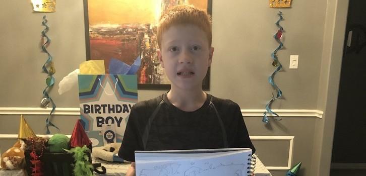 Padre pidió ayuda en Twitter para que hijo completara mapa en su cumpleaños