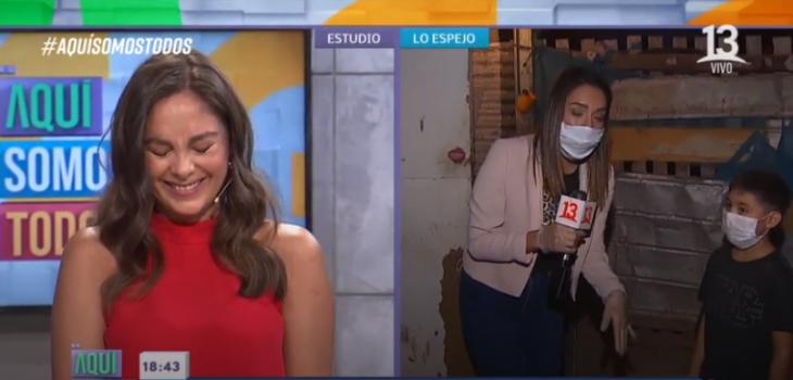 Jordano y Clarisa Muñoz en Aquí somos todos