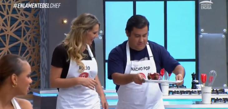 Postre de Rocío Marengo y Nacho Pop