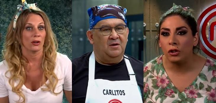El desagradable momento que sufrió Carlos Zárate en MasterChef por culpa de Rocío Marengo y 'Botota'