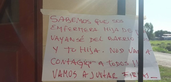 enfermera denunció dramática situación que vive con su hija en Argentina