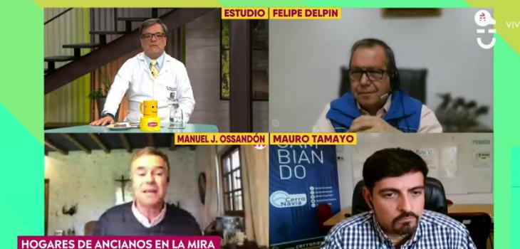 Análisis de doctor generó confusión y molestia de alcaldes en matinal de CHV