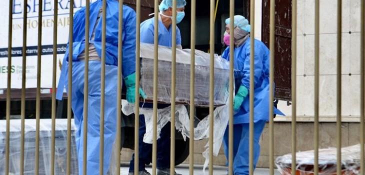 cadáveres en Ecuador