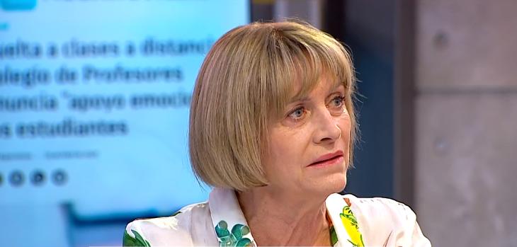 Evelyn Matthei sugiere bajar sueldos de profesores