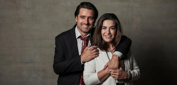Ingrid Cruz y Jorge Zabaleta