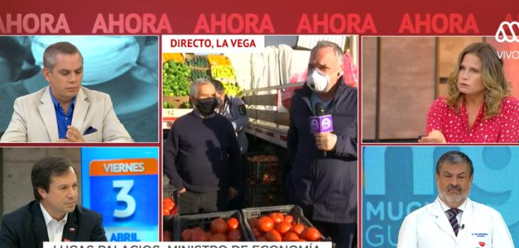 La reflexión de Luis Jara sobre el coronavirus tras despacho en la Vega Central