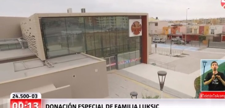 Donación familia Luksic