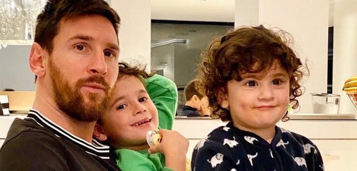 Entrenamiento de Ciro, hijo de Leo Messi