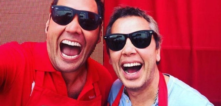 Francisco Saavedra y José Miguel Viñuela