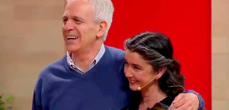 Paulina Urrutia y Augusto Góngora