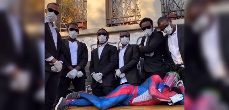 sensual spiderman