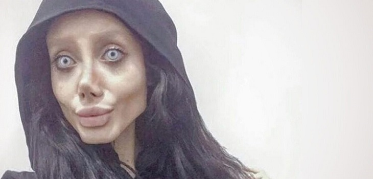 Angelina Jolie Zombie, Angelina Jolie iraní