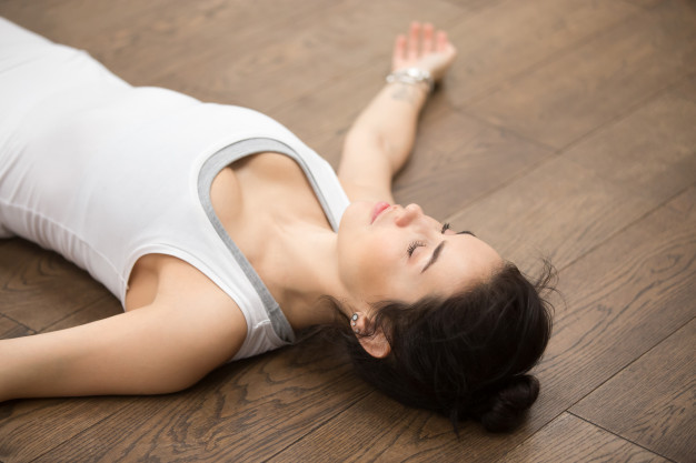 Sabasana, ejercicios, yoga