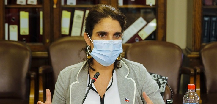 maria jose zaldivar ministra del trabajo
