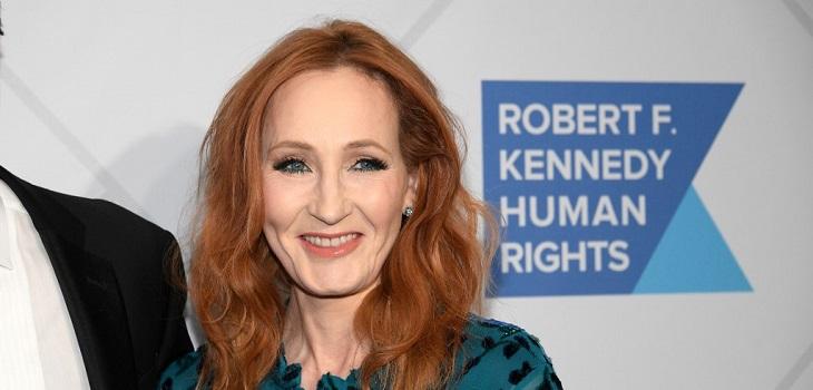 J.K. Rowling | AFP