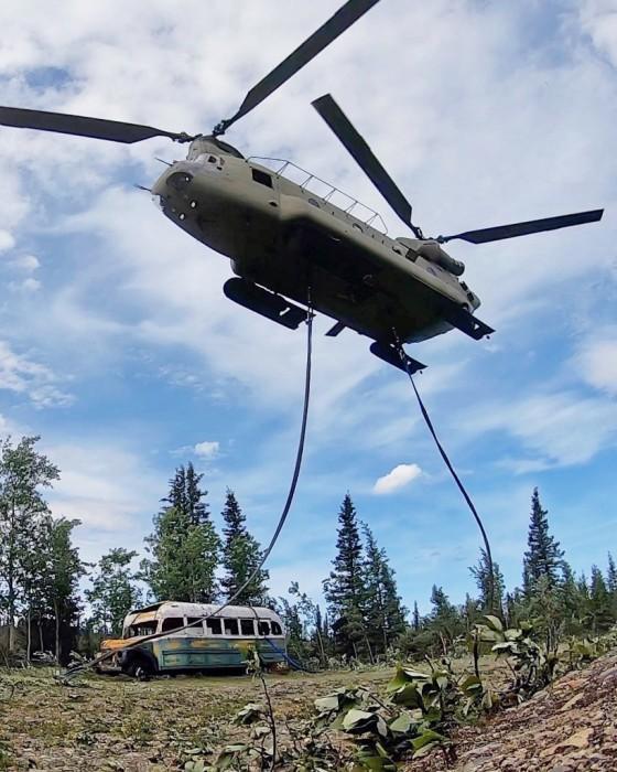 Fairbanks Bus 142, Into the Wild Alaska