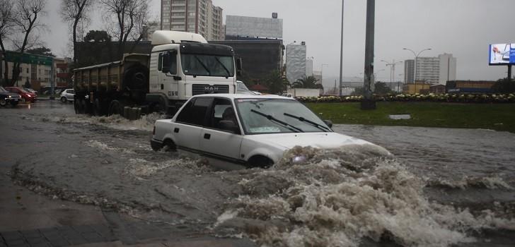 Lluvias en Concepción, lluvias
